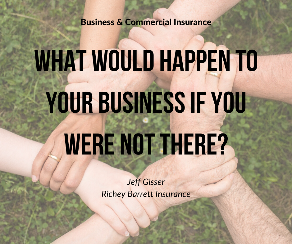 what would happen to your business if you were not there?